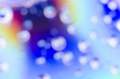 Fondo della bolla vago estratto Fotografie Stock Libere da Diritti