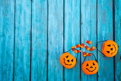 Fondo della caramella di Halloween Immagini Stock Libere da Diritti