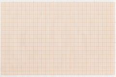 Fondo della carta millimetrata, azione che tracciano una carta, carta di griglia dei prodotti Immagine Stock