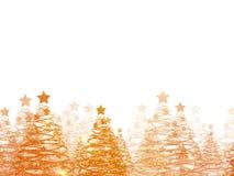 Fondo della cartolina d'auguri di Natale Fotografia Stock Libera da Diritti