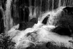 Fondo della cascata Fotografia Stock