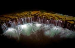 Fondo della cascata Immagini Stock Libere da Diritti