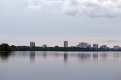 Fondo della città di Ottawa in Camada Fotografie Stock
