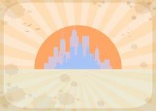 Fondo della città, vettore royalty illustrazione gratis