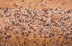 Fondo della crosta del pane Immagini Stock