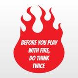 Fondo della fiamma del fuoco di vettore, desing della maglietta e slogan fotografia stock libera da diritti