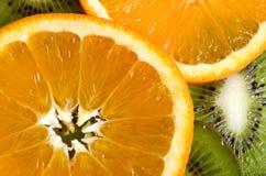 Fondo della frutta Immagine Stock