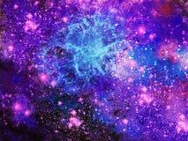 Fondo della galassia royalty illustrazione gratis