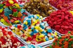 Fondo della gelatina di frutta colorata Fotografia Stock