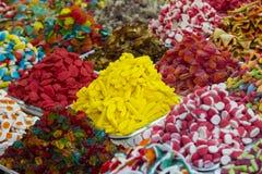 Fondo della gelatina di frutta colorata Immagini Stock
