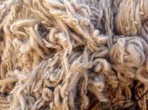 Fondo della lana delle pecore Immagini Stock Libere da Diritti