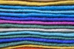 Fondo della lana merino naturale dei prodotti di lana Immagini Stock Libere da Diritti