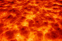 Fondo della lava del magma Immagini Stock