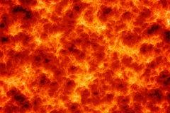 Fondo della lava del magma Fotografia Stock Libera da Diritti