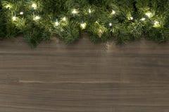 Fondo della luce di Natale Immagine Stock Libera da Diritti