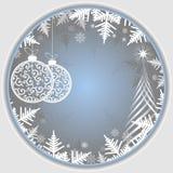 Fondo della luce di Natale illustrazione di stock