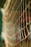 Fondo della maglia allungato recinto Fotografie Stock