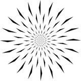 Fondo della mandala e progettazione in bianco e nero della carta da parati immagini stock