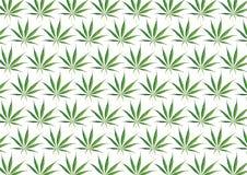 Fondo della marijuana Fotografie Stock