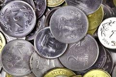 Fondo della moneta immagini stock libere da diritti