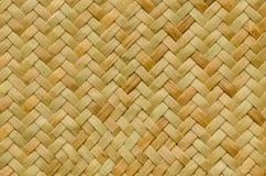 Fondo della natura del modello del vimine di struttura del tessuto dell'artigianato Fotografie Stock Libere da Diritti