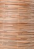 Fondo della natura del surfa marrone del rattan di struttura del tessuto dell'artigianato Immagine Stock Libera da Diritti