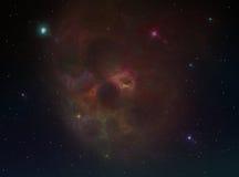 Fondo della nebulosa immagini stock