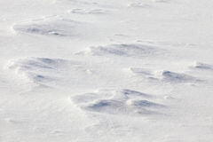 Fondo della neve Immagine Stock