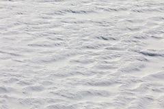 Fondo della neve Immagini Stock