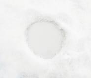 Fondo della neve con il posto per testo o il numero Fotografia Stock