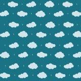 Fondo della nuvola Immagine Stock