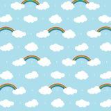 Fondo della nuvola Fotografie Stock