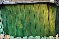 Fondo della pagina dei bordi colorati verde Immagini Stock Libere da Diritti