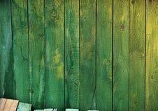 Fondo della pagina dei bordi colorati verde Immagini Stock