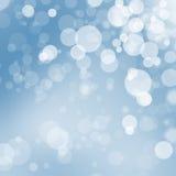 Fondo della palla del bokeh di Natale immagini stock