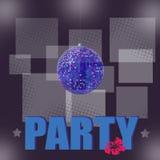 Fondo della palla della discoteca - partito Immagini Stock