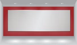 Fondo della parete con il punto luminoso Fotografie Stock