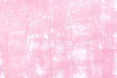 Fondo della parete con il tono rosa Fotografie Stock Libere da Diritti