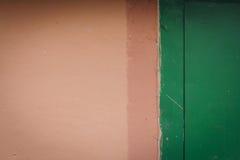 Fondo della parete con la parte della porta Immagini Stock Libere da Diritti