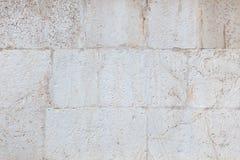 Fondo della parete del calcare Fotografia Stock Libera da Diritti