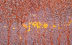 Fondo della parete della ruggine variopinto Immagine Stock Libera da Diritti