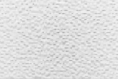 Fondo della parete delle mattonelle che splende nel colore bianco Reticolo elegante Immagine Stock