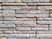 Fondo della parete di mattoni della roccia Immagini Stock Libere da Diritti
