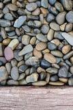 Fondo della parete di pietra Fotografie Stock