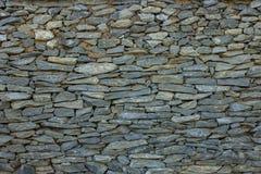 Fondo della parete di pietra bianca Immagine Stock Libera da Diritti