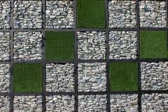 Fondo della parete di pietra bianca Immagine Stock