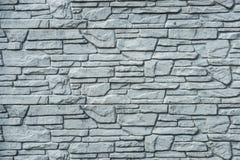 Fondo della parete di pietra decorativa Fotografia Stock Libera da Diritti
