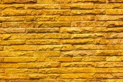 Fondo della parete di pietra fatto con i blocchi Immagine Stock Libera da Diritti