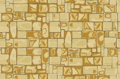 Fondo della parete di pietra senza cuciture royalty illustrazione gratis