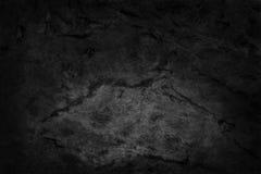 Fondo della parete di pietra, struttura nera della roccia nel modello naturale Fotografia Stock Libera da Diritti